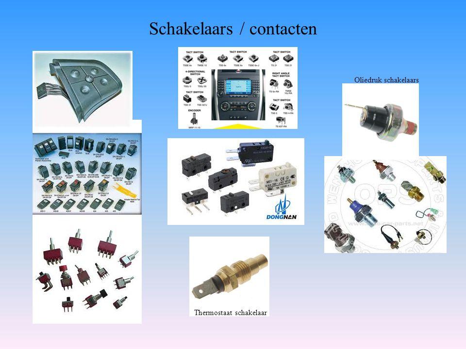 Schakelaars / contacten