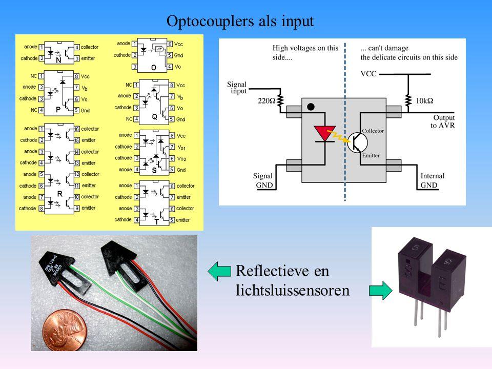 Optocouplers als input