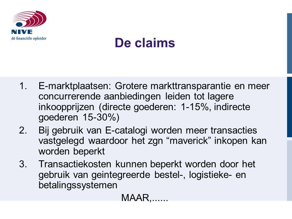 De claims