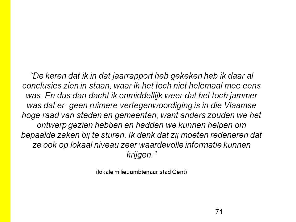 (lokale milieuambtenaar, stad Gent)