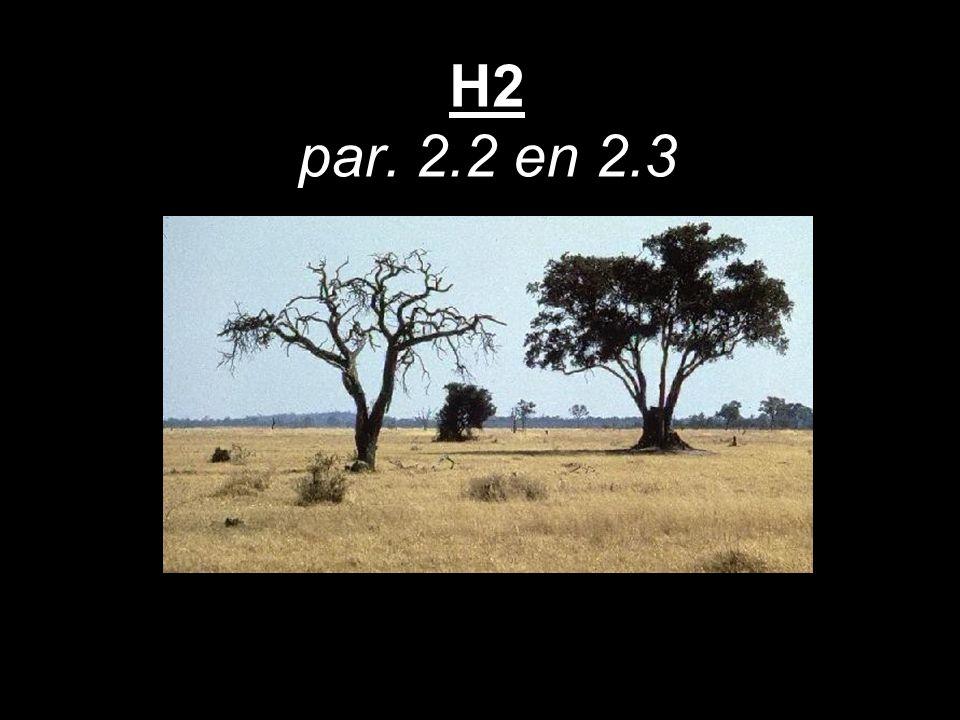 H2 par. 2.2 en 2.3
