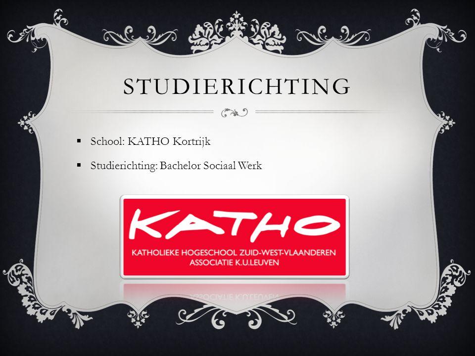 studierichting School: KATHO Kortrijk