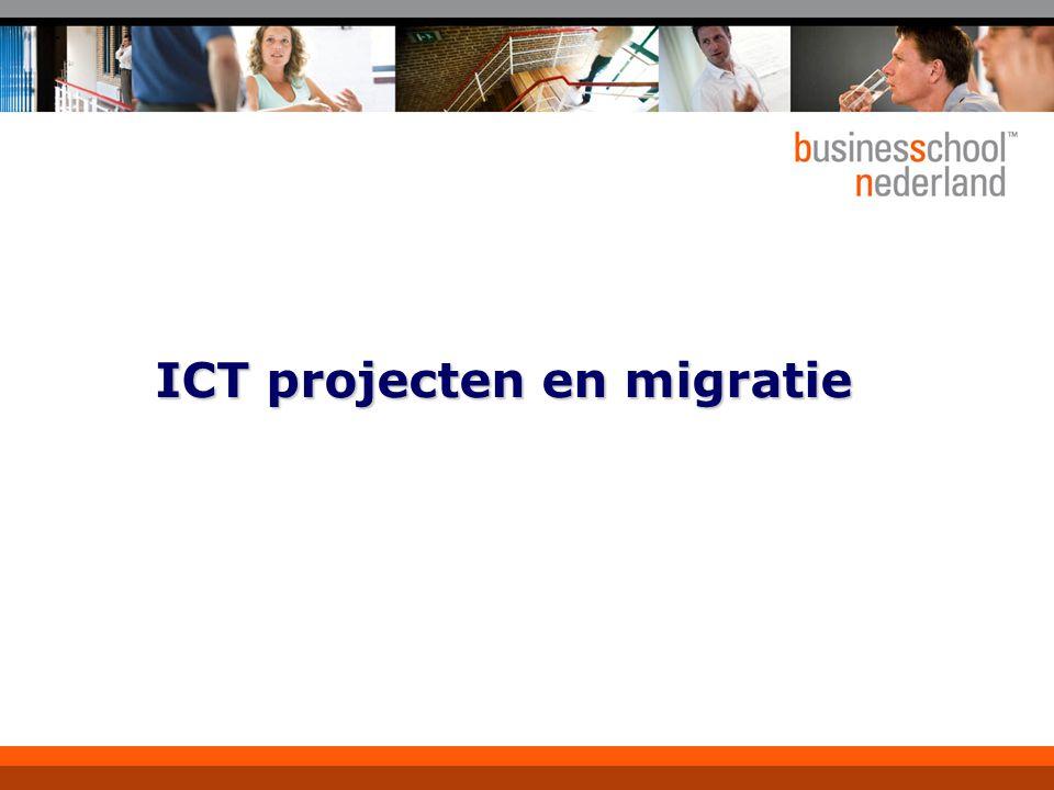 ICT projecten en migratie