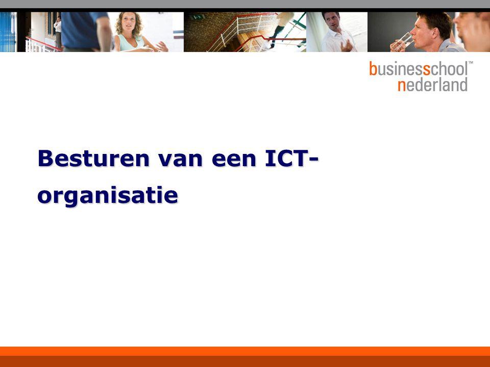 Besturen van een ICT-organisatie