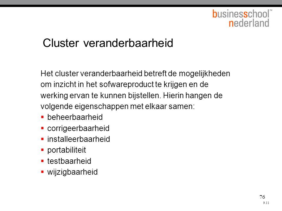 Cluster veranderbaarheid