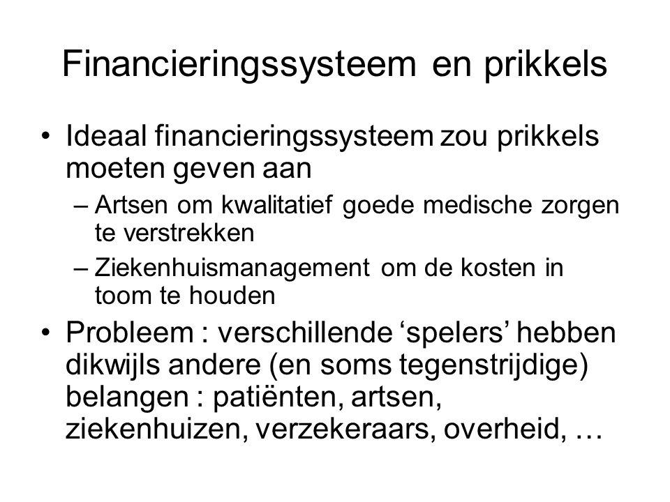 Financieringssysteem en prikkels