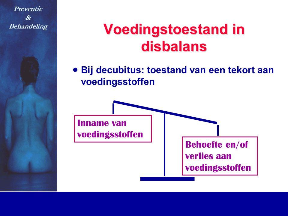 Voedingstoestand in disbalans