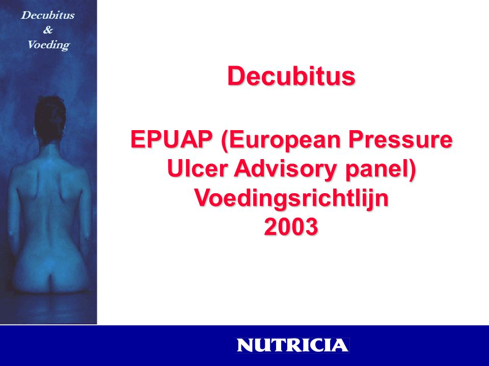 EPUAP (European Pressure Ulcer Advisory panel)