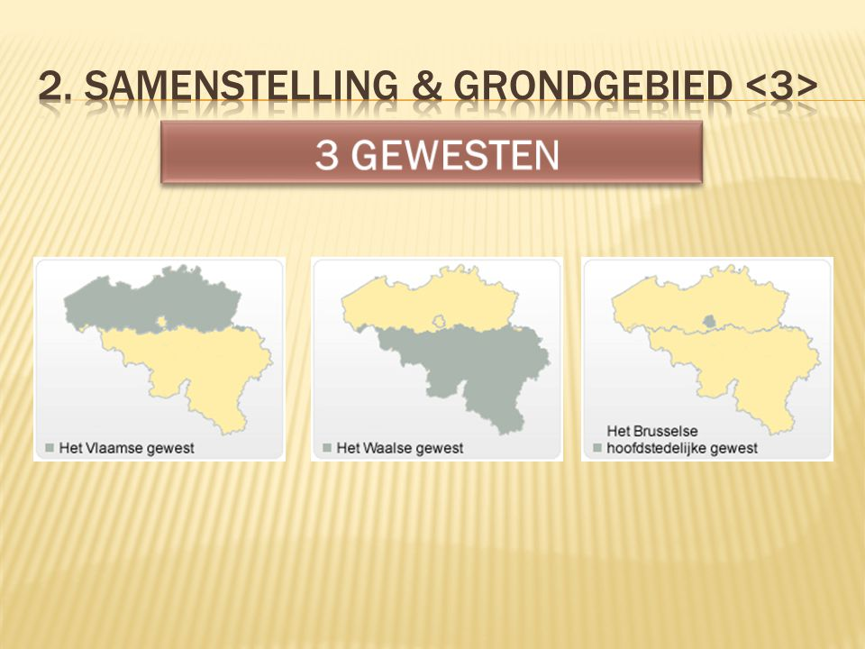 2. Samenstelling & grondgebied <3>