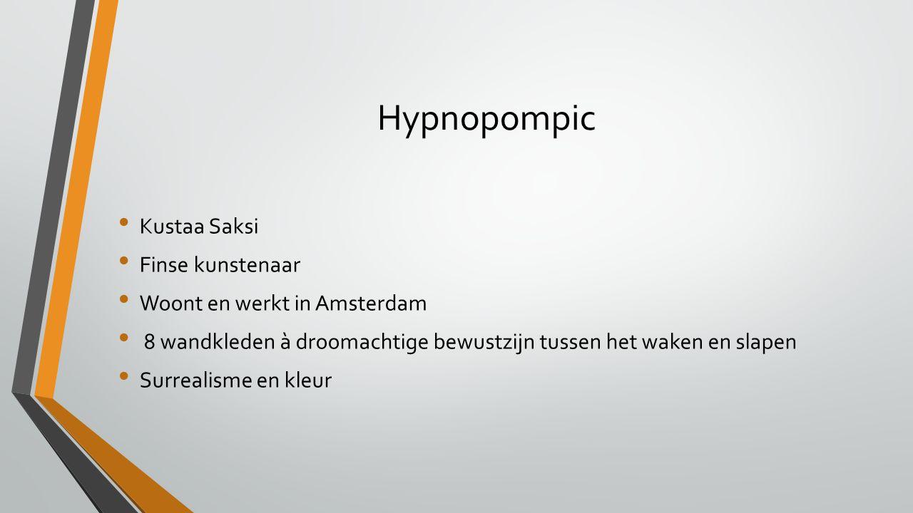 Hypnopompic Kustaa Saksi Finse kunstenaar Woont en werkt in Amsterdam