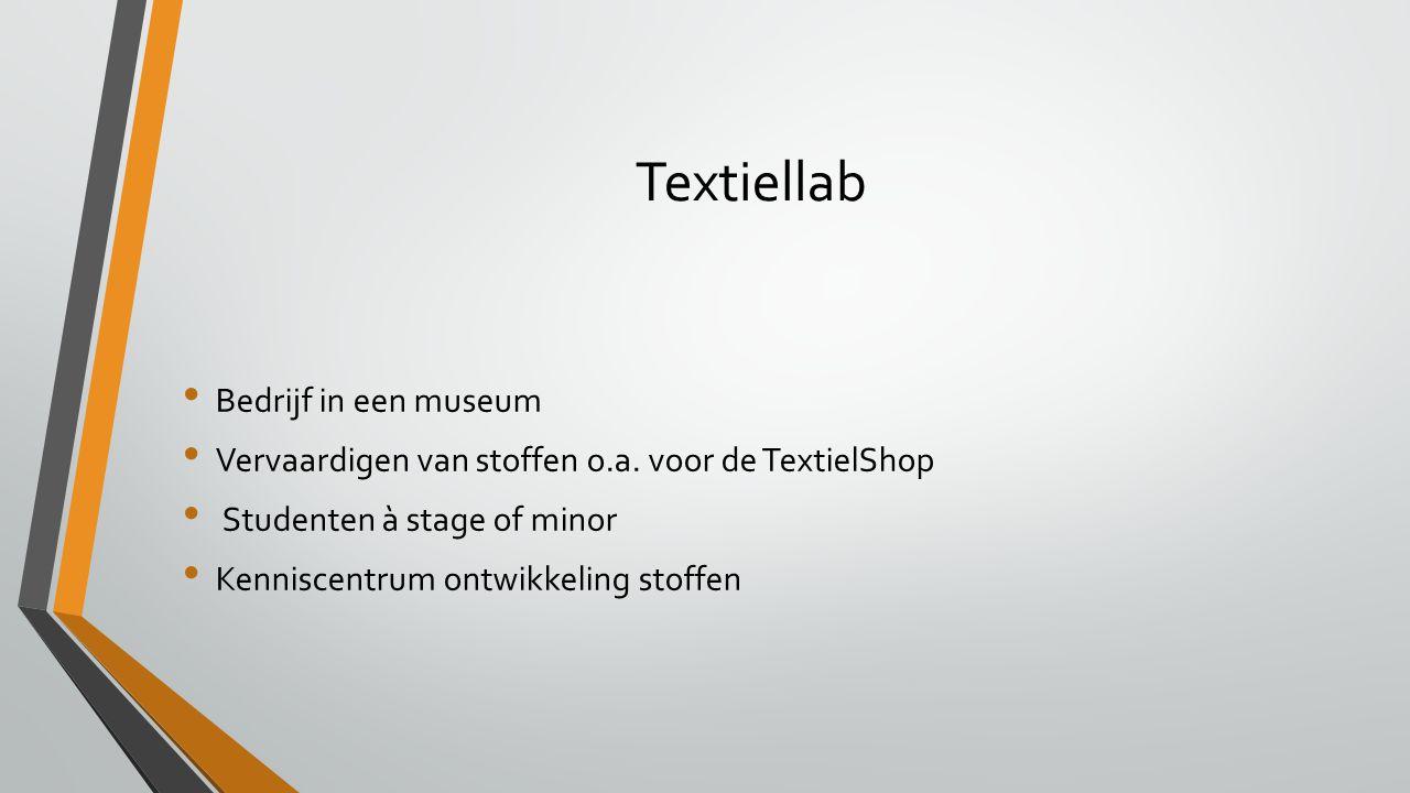 Textiellab Bedrijf in een museum