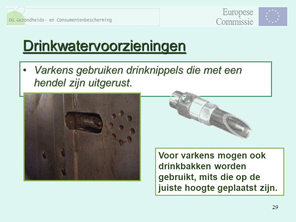 Drinkwatervoorzieningen