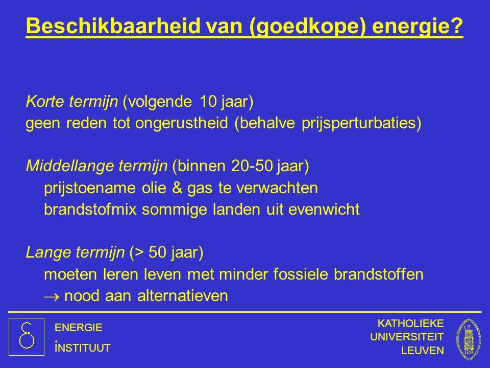 Beschikbaarheid van (goedkope) energie