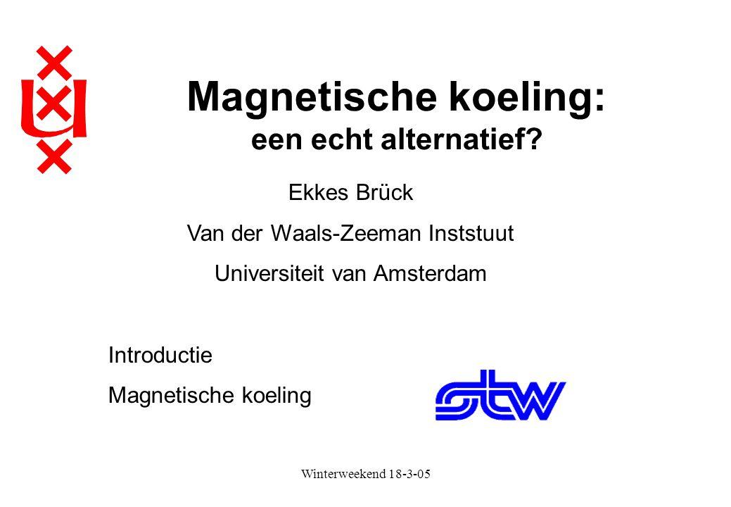 Magnetische koeling: een echt alternatief