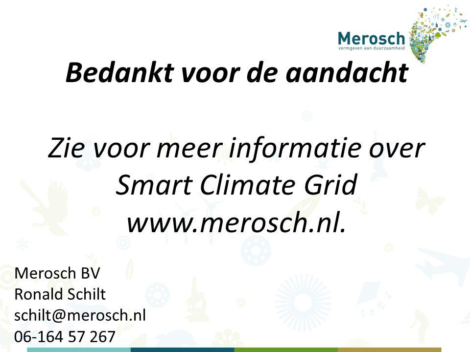 Merosch BV Ronald Schilt schilt@merosch.nl 06-164 57 267