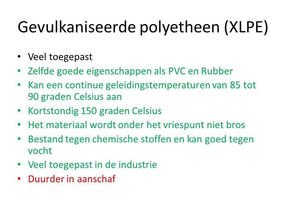 Gevulkaniseerde polyetheen (XLPE)