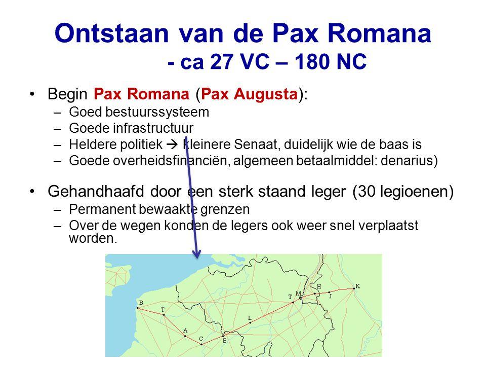 Ontstaan van de Pax Romana - ca 27 VC – 180 NC
