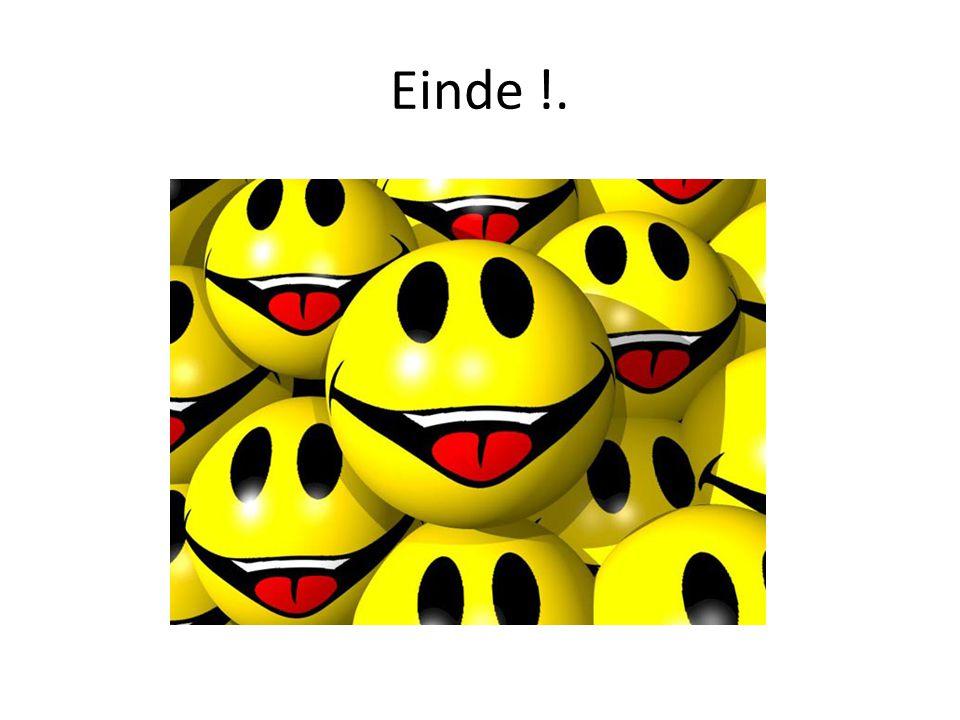 Einde !.