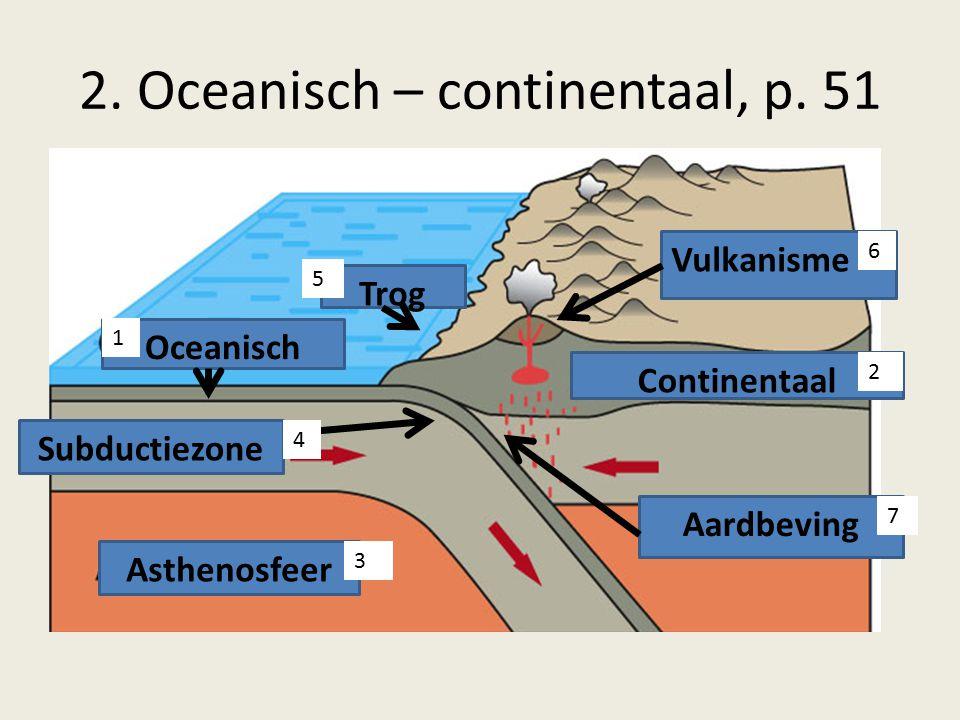 2. Oceanisch – continentaal, p. 51