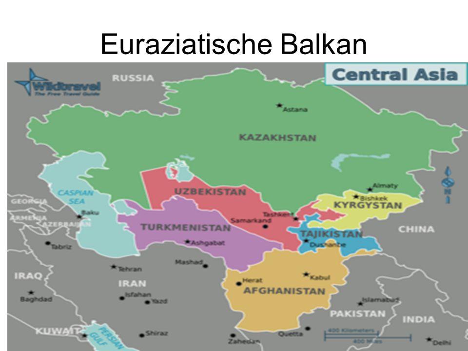 Euraziatische Balkan