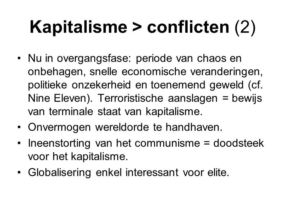 Kapitalisme > conflicten (2)