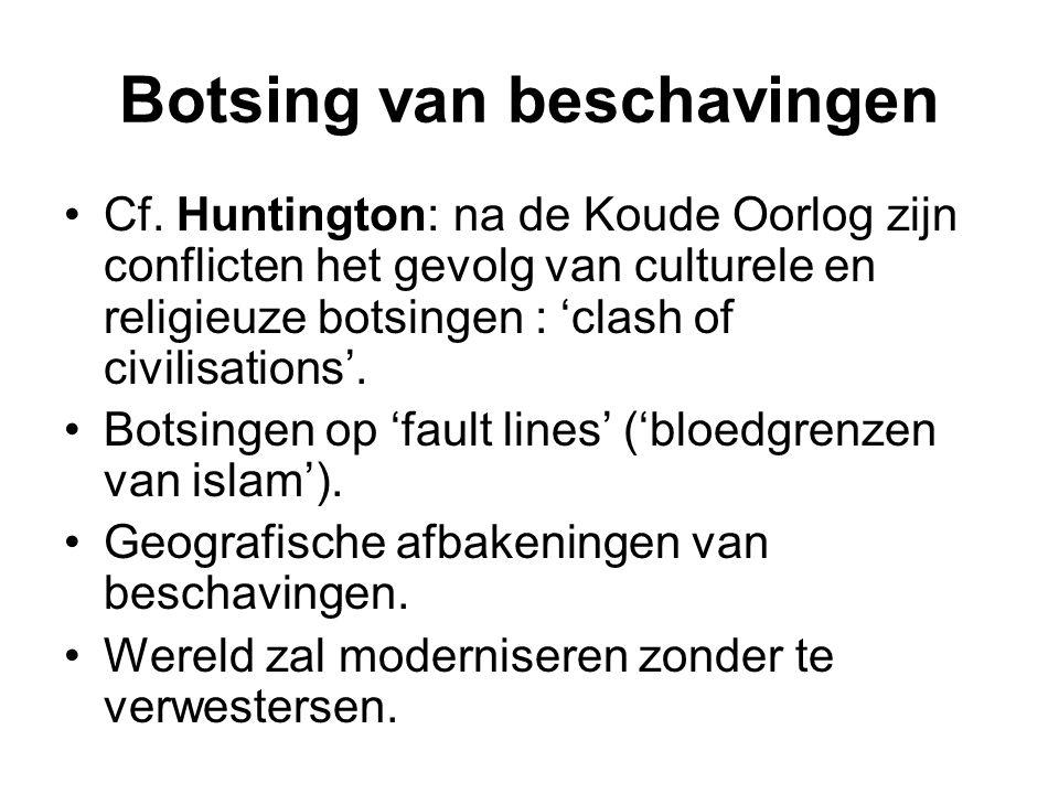 Botsing van beschavingen