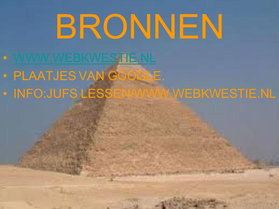 BRONNEN WWW.WEBKWESTIE.NL PLAATJES VAN GOOGLE.