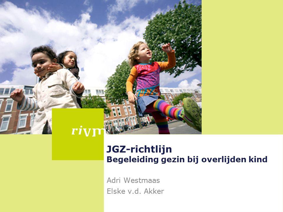 JGZ-richtlijn Begeleiding gezin bij overlijden kind