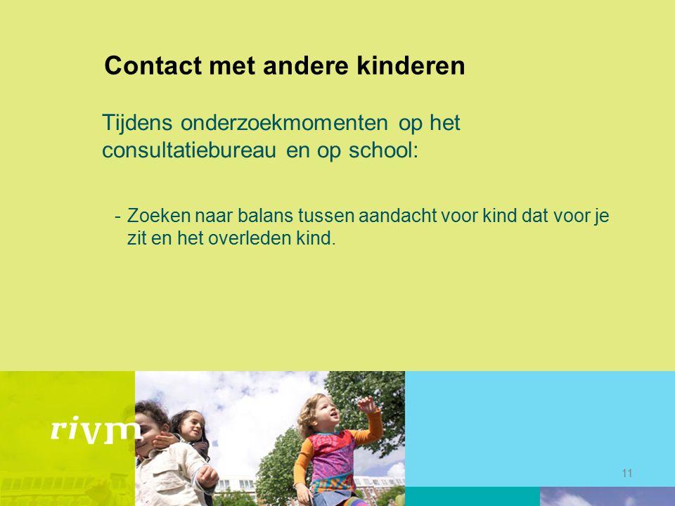 Contact met andere kinderen