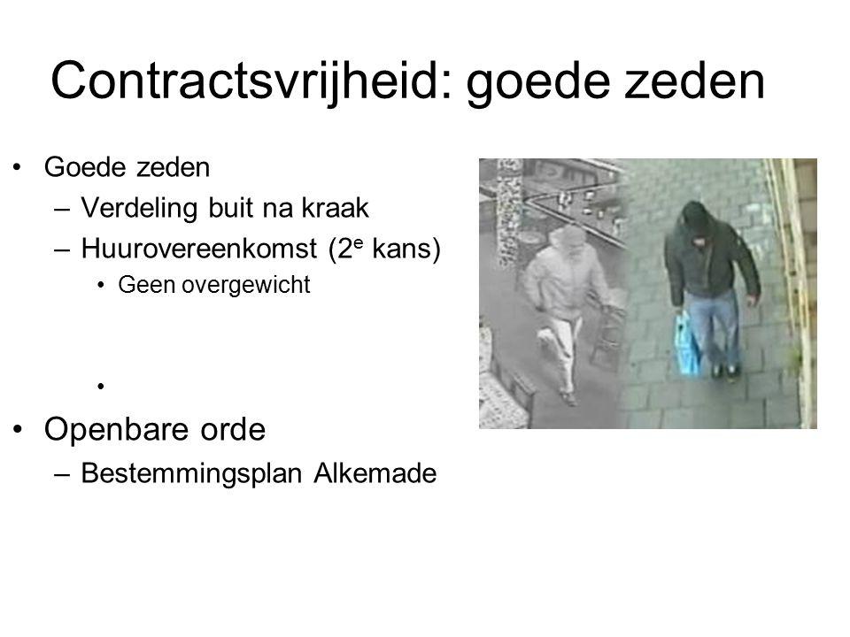 Contractsvrijheid: goede zeden