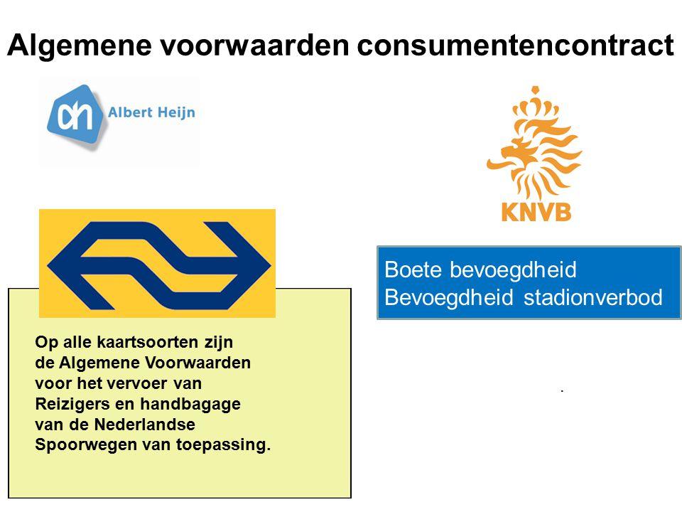 Algemene voorwaarden consumentencontract