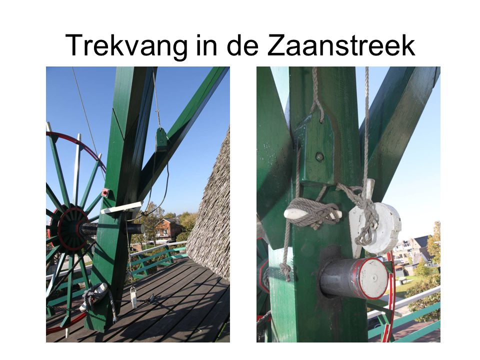 Trekvang in de Zaanstreek