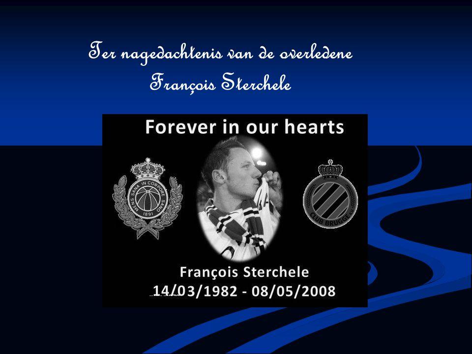 Ter nagedachtenis van de overledene François Sterchele
