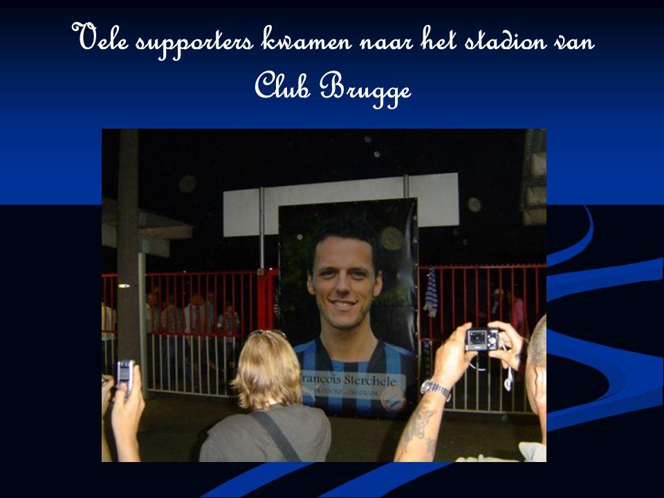Vele supporters kwamen naar het stadion van Club Brugge