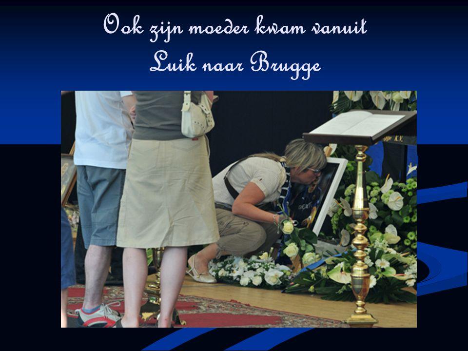 Ook zijn moeder kwam vanuit Luik naar Brugge