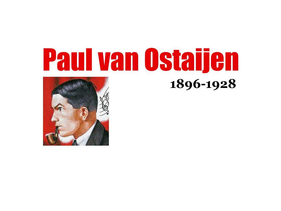Paul van Ostaijen 1896-1928