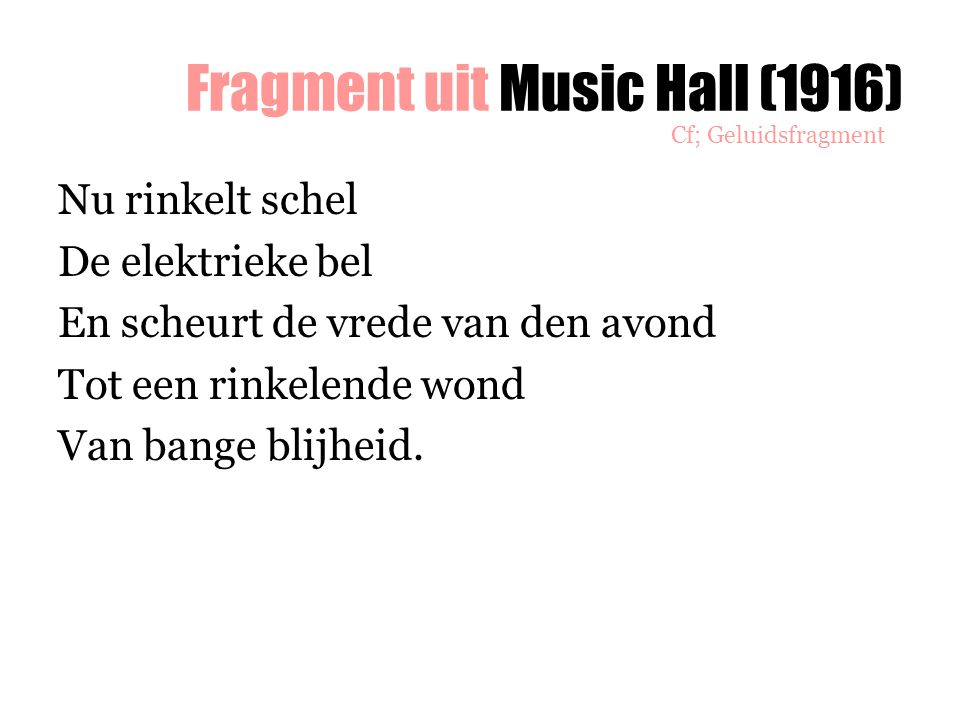 Fragment uit Music Hall (1916)