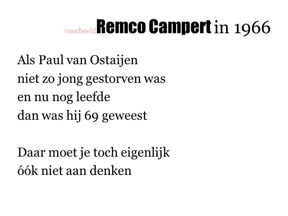 voorbeeldRemco Campert in 1966