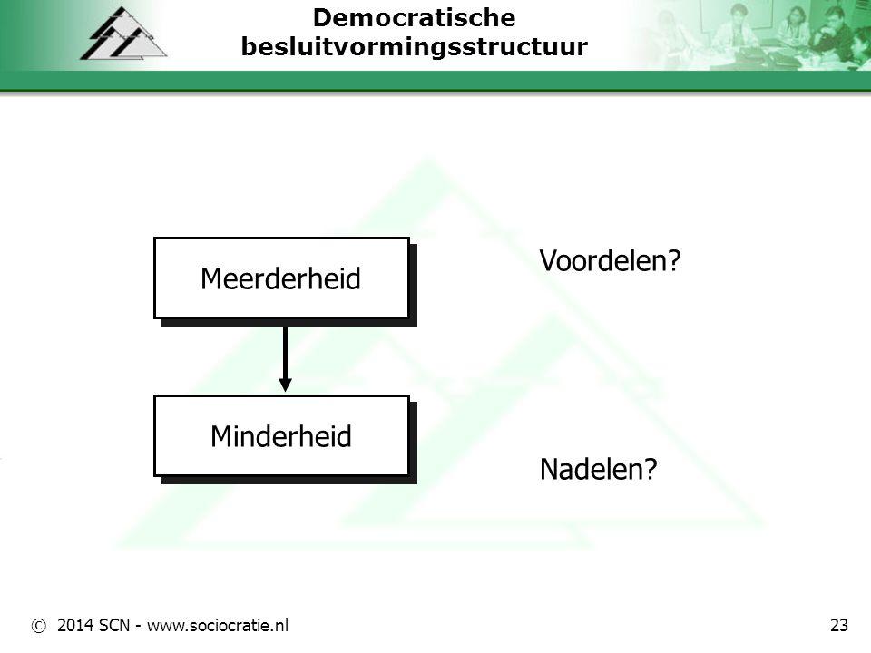 Democratische besluitvormingsstructuur