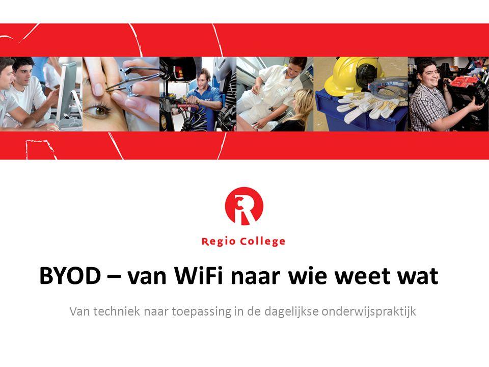 BYOD – van WiFi naar wie weet wat