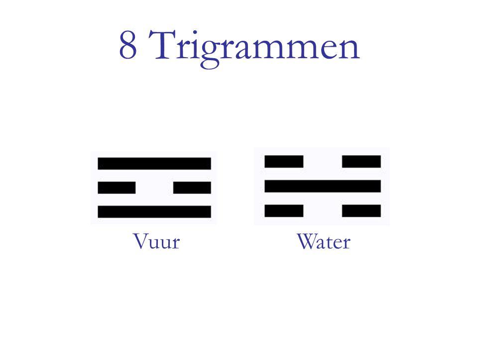 8 Trigrammen Vuur Water