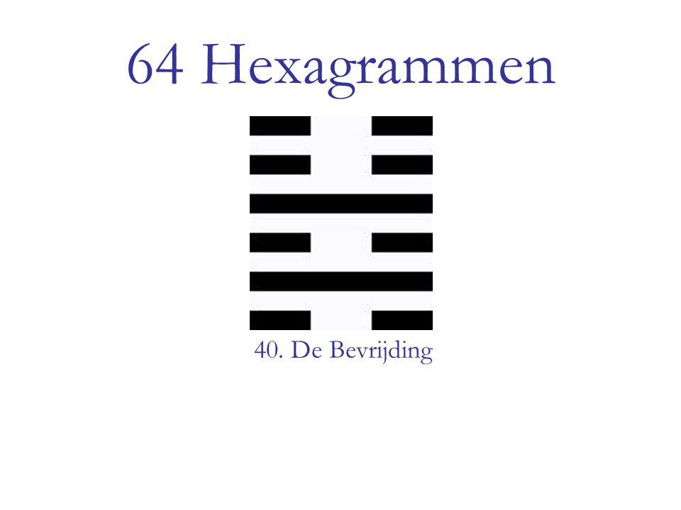 64 Hexagrammen 40. De Bevrijding
