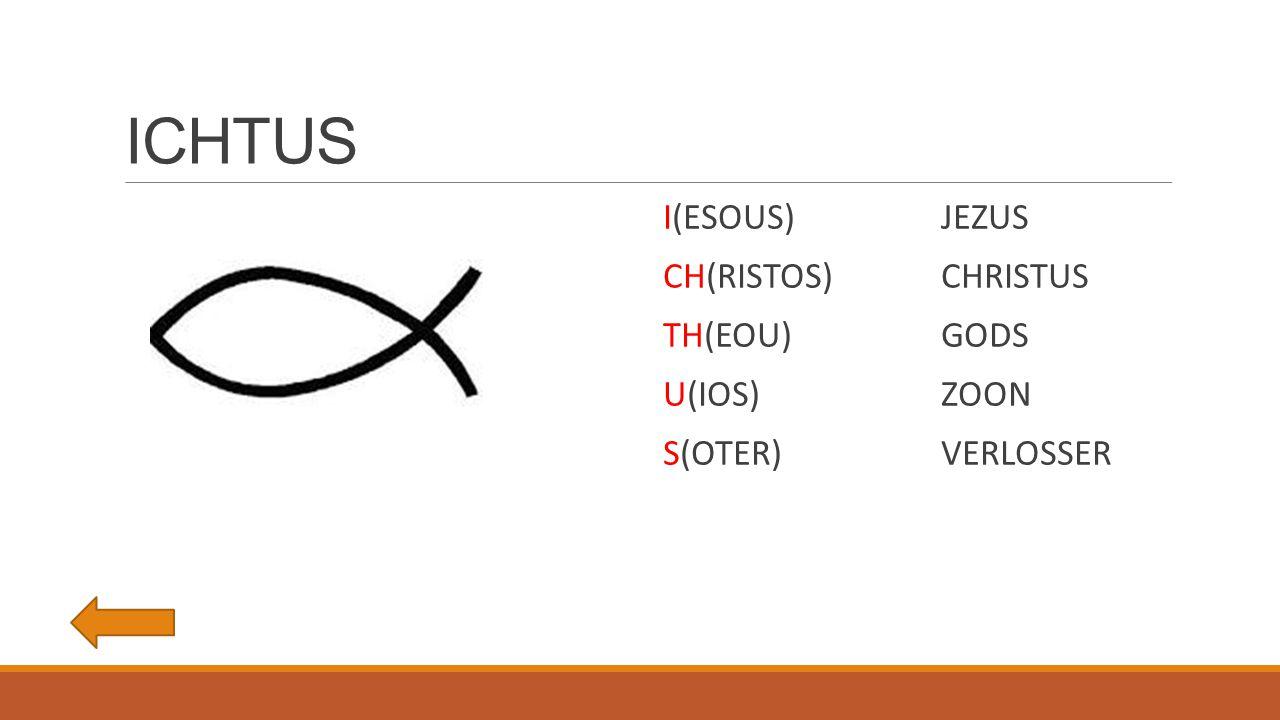 ICHTUS I(ESOUS) JEZUS CH(RISTOS) CHRISTUS TH(EOU) GODS U(IOS) ZOON