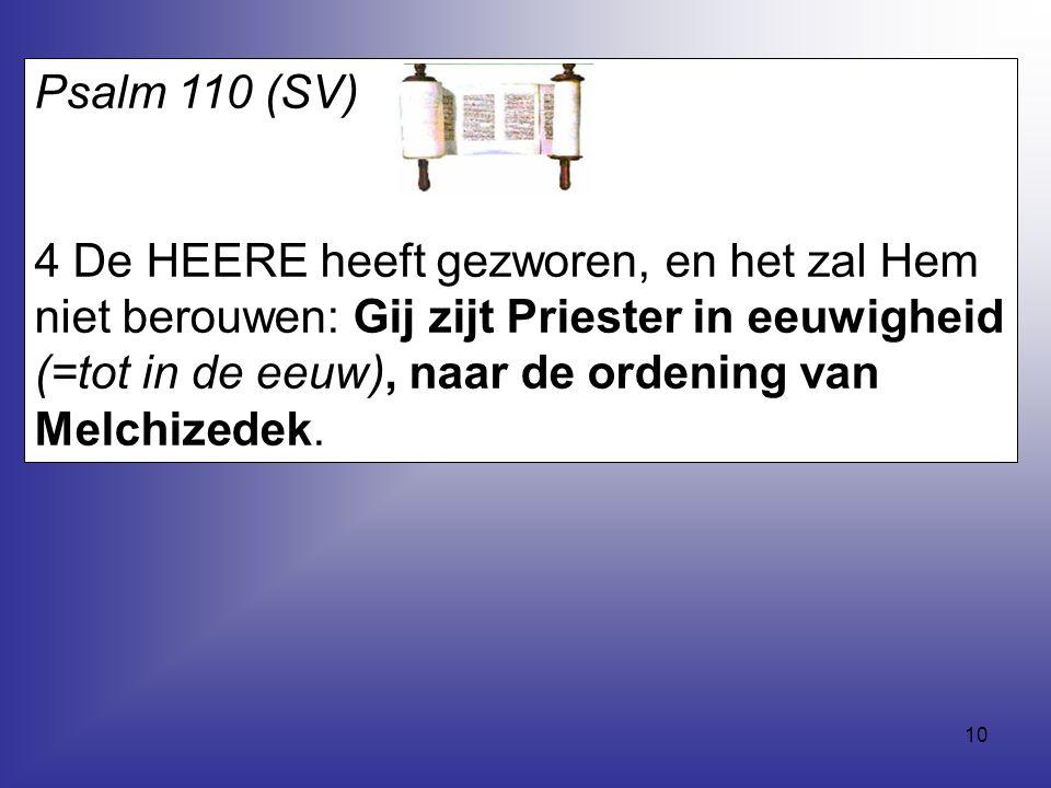 Psalm 110 (SV)