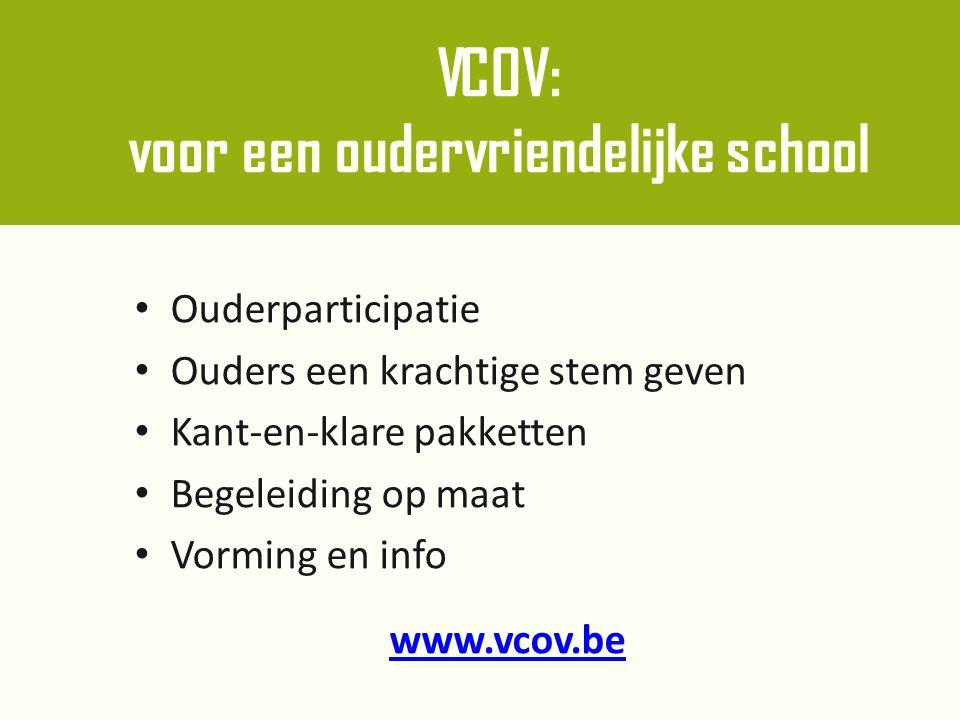 VCOV: voor een oudervriendelijke school
