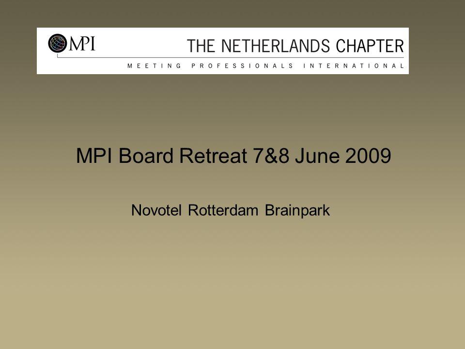 MPI Board Retreat 7&8 June 2009