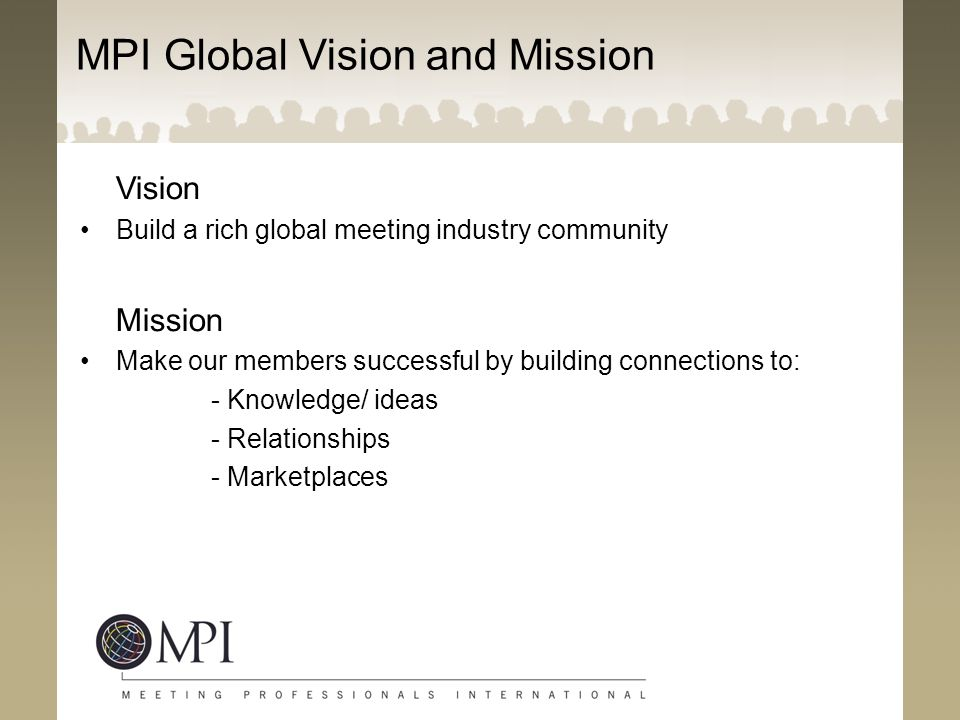 MPI Global Vision and Mission