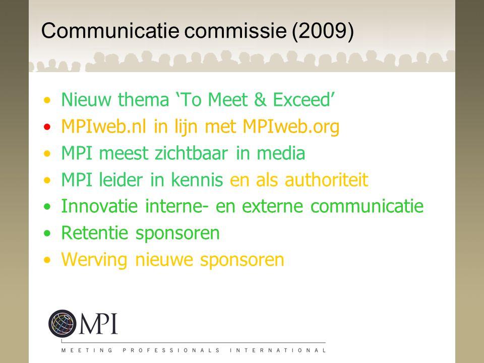 Communicatie commissie (2009)