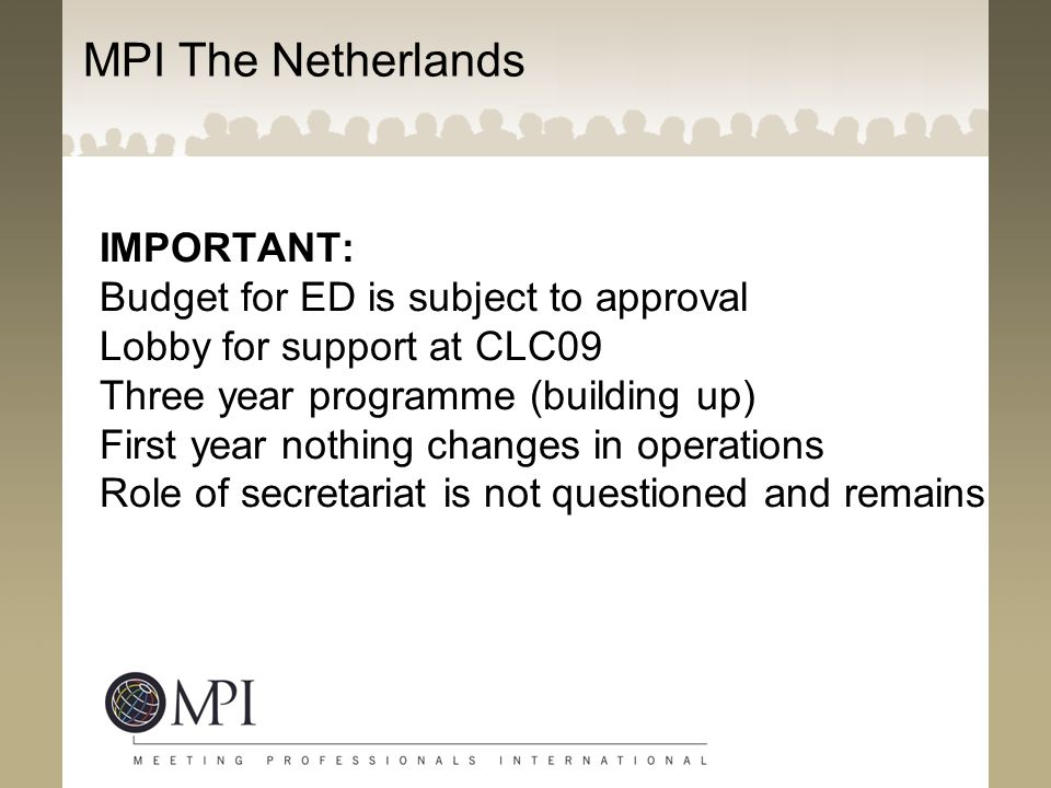 MPI The Netherlands