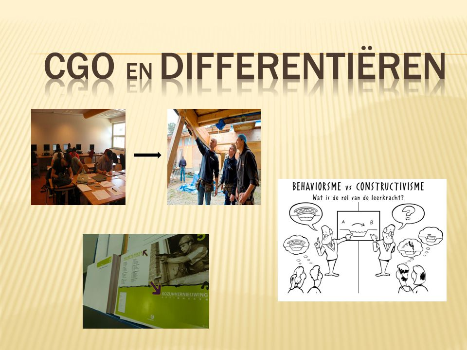 CGO en Differentiëren